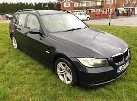 BMW 3 Series, 2007 (57) Blue Estate, Manual Diesel, 141,680 miles