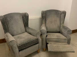 2 Beautiful NEXT Armchairs in good condition.