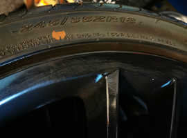 Bmw alloys and tyres