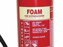 Fire Extinguisher AFFF Foam 6lt. Brand New