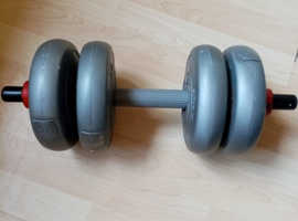 dp arbotron dumbells 2kg 4.4lbs weights