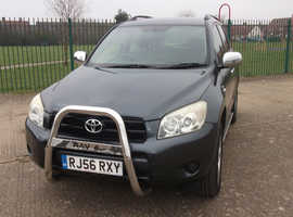 Toyota Rav4, 2006 (56) Grey Estate, Manual Diesel, 129,621 miles