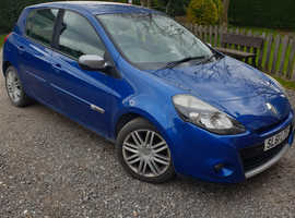 Renault Clio dynamique 2011 (61) blue hatchback, Manual Petrol, 79,000 miles