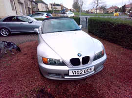 BMW Z SERIES, 2000 (V) Silver Convertible, Manual Petrol, 80,955 miles