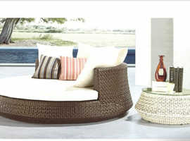 Brand New Rattan Sunbed set with Coffee Table - stock needs to go!