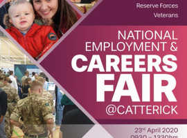 National Employment & Careers Fair @ Catterick - 23rd April