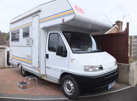 Eura Mobil 585 DSS Sport 6-berth LHD Motorhome on Fiat Ducato Chassis Cab