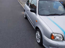 Nissan Micra, 2002 (02) Silver Hatchback, Manual Petrol, 28,500 miles