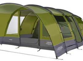 CAMPING BARGAIN -BRAND NEW VANGO ANTEUS 600 TENT with FOOTPRINT and CARPET