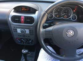 Vauxhall Corsa, 2005 (05) Blue Hatchback, Automatic Petrol, 52,801 miles