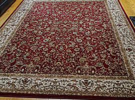 Rug in excellent clean condition. Large. 240 cms x 340 cms. OFFERS PLEASE