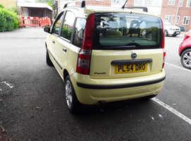 Fiat Panda, 2004 (54) Yellow ,only 50,565miles