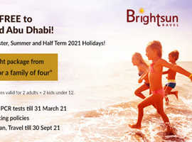 Take Advantage of Etihad Airways Kids Go Free Offers to Dubai & Abu Dhabi