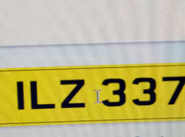 Numberplate ILZ 337