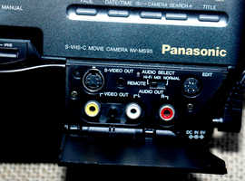 Panasonic Hi-Fi Stereo Movie Camera with Amorphous Head and Digital Auto focus SVHSC 625 VHS / Pal