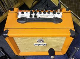 Orange Crush 20LDX guitar amp, + Jensen speaker upgrade, VGC