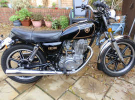 1979 Yamaha SR 500 in immaculate condition