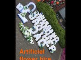 Funeral flowers hire