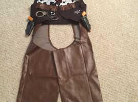 Men's cowboy outfit,
