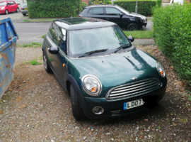 Mini MINI, 2007 (07) Green Hatchback, Manual Petrol, 69,280 miles