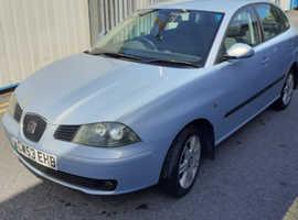 Seat Ibiza, 2003 (53) Blue Hatchback, Manual Diesel, 152,000 miles