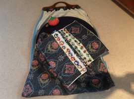 Bobbin Lace cushion and accessories