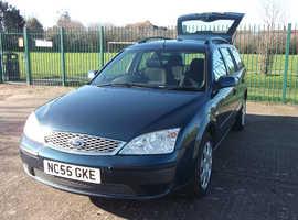 Ford Mondeo, 2006 (55) Blue Estate, Manual Petrol, 83,654 miles