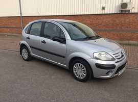 Citroen C3, 2008 (57), Manual Petrol, 62,000 miles