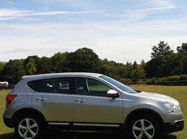 Nissan Qashqai, 2009 (09) Silver Hatchback, 1.5 DCI , 78,000 miles NEW Mot