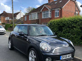 Mini MINI, 2008 (58) Black Hatchback, Manual Petrol, 85,000 miles