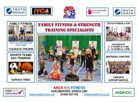 FAMILY FITNESS AND STRENGTH TRAINING SPECIALISTS