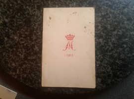 Scarce 1915 original princess mary card