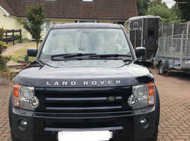 Land Rover Discovery, 2007 (07) Blue Estate, Automatic Diesel, 127,500 miles