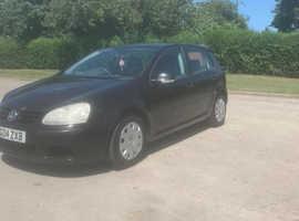 Volkswagen Golf, 2004 (04) Black Hatchback, Manual Diesel, 160,000 miles