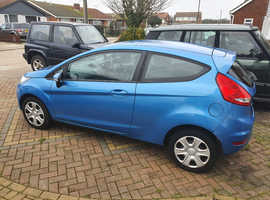 Ford Fiesta, 2010 (60) Blue Hatchback, Manual Diesel, 73,696 miles