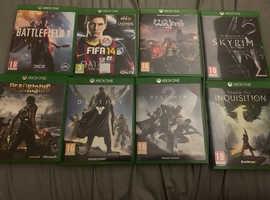Job lot of Xbox games £10