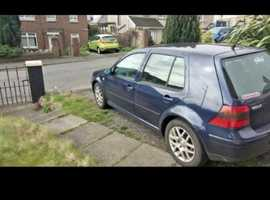 Volkswagen Golf gti, 1999 (T) Blue Hatchback, Manual Petrol, 156,633 miles