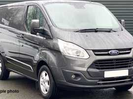 Ford Transit Custom 2.0 TDCi 130ps Low Roof Limited Edition Van Fabulous One Owner Van....Superb Condition Throughout