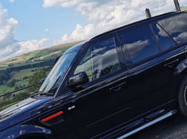 Land Rover Range Rover Sport, 2010 (60) black estate, Automatic Diesel, 123,000 miles