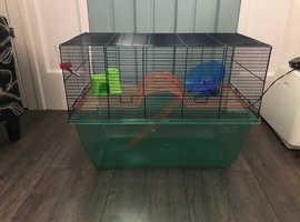 Gerbilarium  / dwarf hamster cage extra large