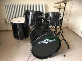 Full Size drum kit - excellent condition