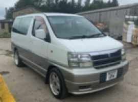 Nissan Elgrand caravan Camper Van