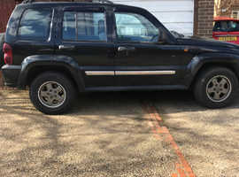 Jeep Cherokee, 2005 (54) Black Estate, Manual Diesel, 124,500 miles