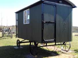 New Traditional Shepherds Hut, perfect for working from home. Fully insulated, electrics and stove.