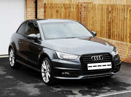 Audi A1, 2016 (16) Grey Hatchback, Manual Diesel, 30,800 miles
