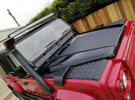 Land Rover DEFENDER 110, 1997 (R) Red 4x4, Manual Diesel, 151,500 miles