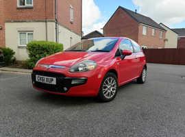Fiat Punto Evo, 2012 (61) Red Hatchback, Manual Petrol, 67,233 miles