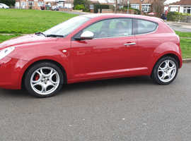 Alfa Romeo Mito, 2009 (09) Red Hatchback, Manual Petrol, 63,000 miles