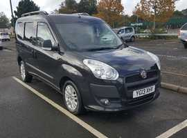FIAT DOBLO ELEGANZA 1.6 DIESEL MPV (2013) - TOP OF THE RANGE LATE MODEL AND VERY CHEAP!
