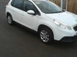 Peugeot 2008, 2013 (63) White Hatchback, Manual Diesel, 66,000 miles, PART EX CONSIDERED